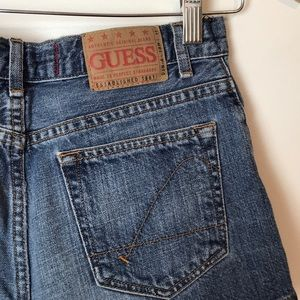 Guess Jean Denim Shorts 24 Waist